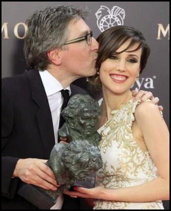David Trueba y Natalia Molina, Goyas a mejor director y actriz revelación por Vivir es fácil con los ojos cerrados