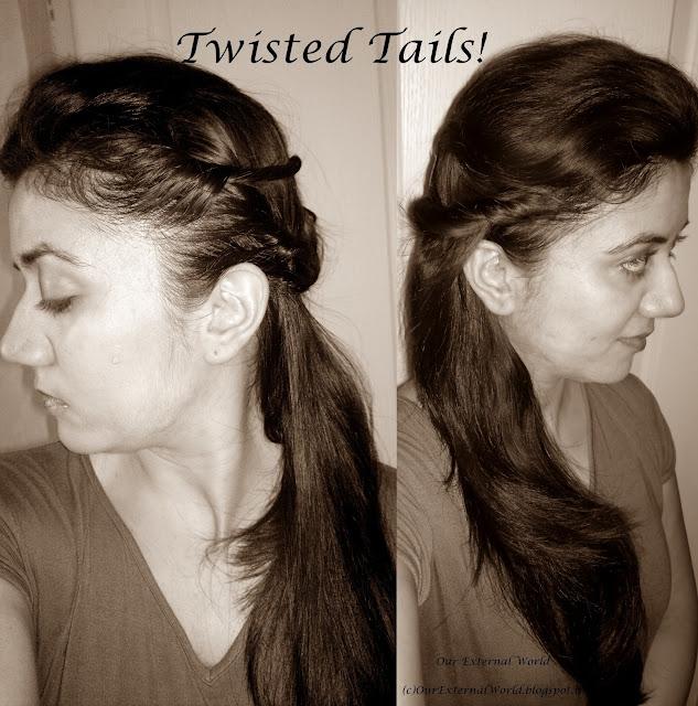 Twisted Tails - TRESemmé Ramp Ready Hair
