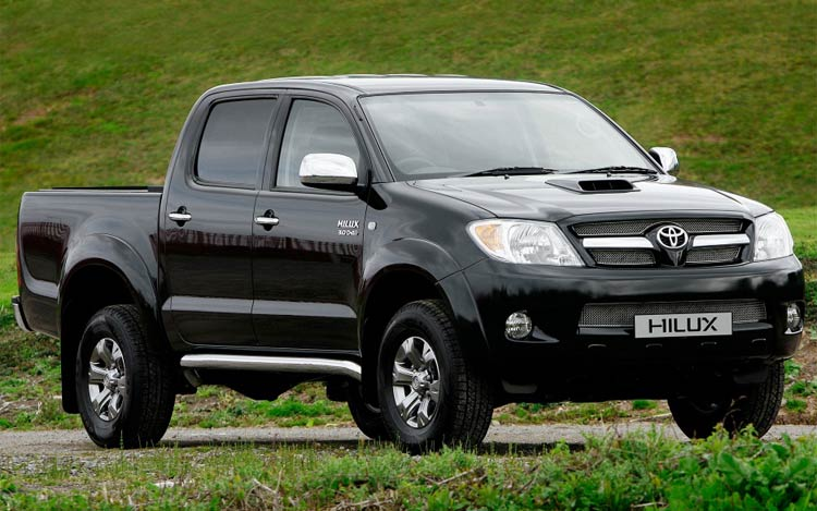 car toyota hilux. Black Bedroom Furniture Sets. Home Design Ideas