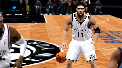 NBA 2K13 Brook Lopez New Hairstyle Update