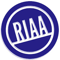 RIAA logo tilt image