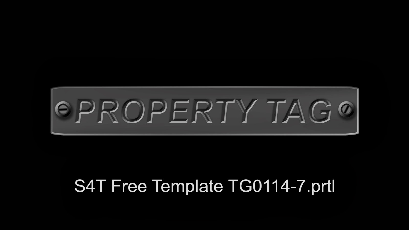 Style4type free s4t premiere pro title template property tag for Premiere pro title templates free