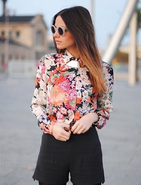 Женские блузки с принтом