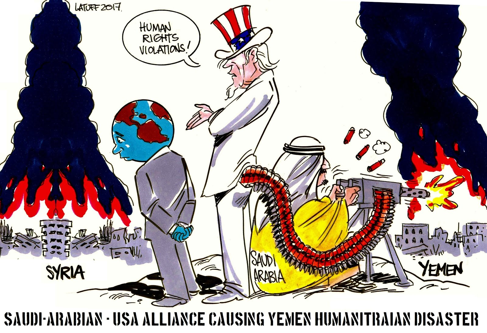 Yemen Human Rights Violations Happening!