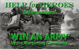 HELP for HEROES 'Salamanders'