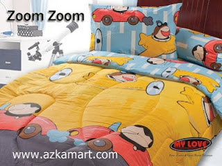Sprei My Love Zoom Zoom