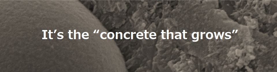 Growing concrete