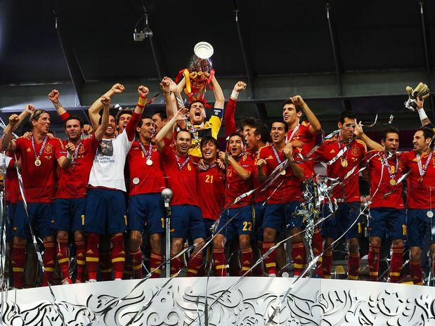 Espanha é bi-campeã da Euro Copa