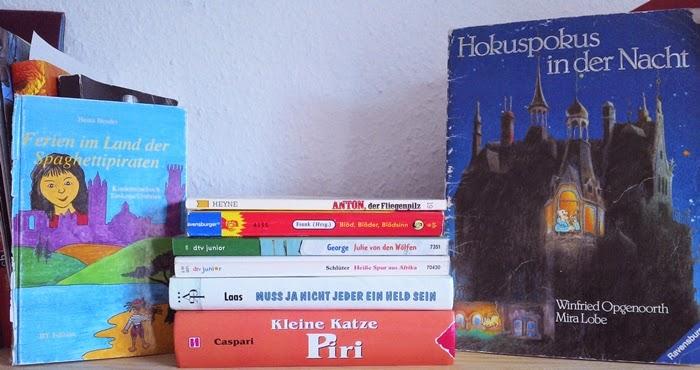 Bücher für die Abstaub-Challenge
