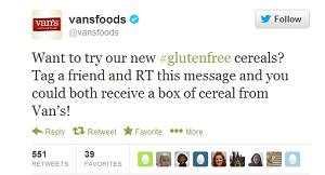 Free Van's Gluten-Free cereal