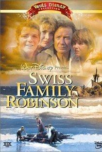 A CIDADELA DOS ROBINSONS - SWISS FAMILY ROBINSON - 1960