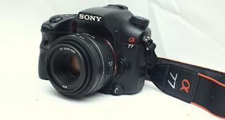 Jual 2nd Sony Alpha SLT A77V