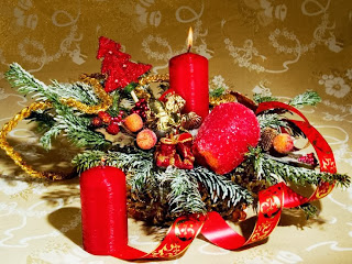 Christmas Day 2015 Candles Decorations Ideas Pics Free