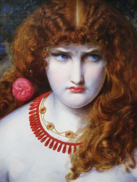 helen of troy, sandys, victorian painter