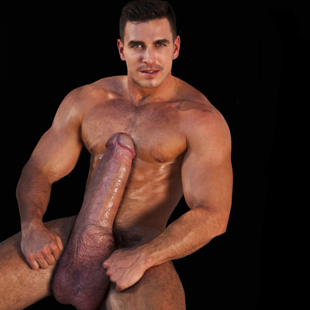 muscle morph big cock Black