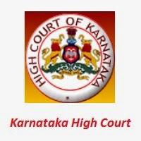 Jobs in Karnataka High Court