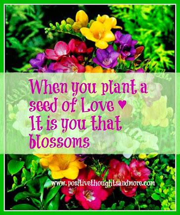 Plant Seeds of LOVE wherever you Go!