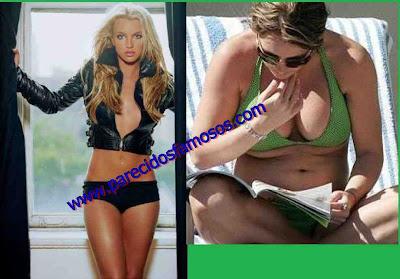 Britney Spears otra vez antes y después