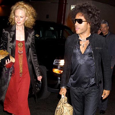 lenny kravitz and nicole kidman relationship with isabella