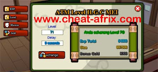 cheat ninja saga xp + gold permanent