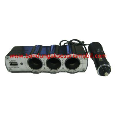 Colokan Lighter + USB WF 0120