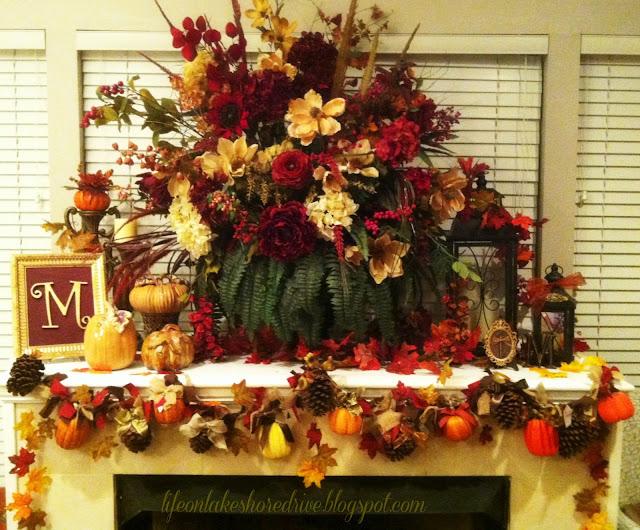"alt="" Pine Cone & Pumpkins Garland Tutorial"""