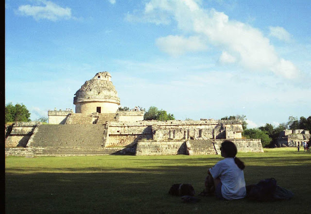 caracol observatorio chichen itza