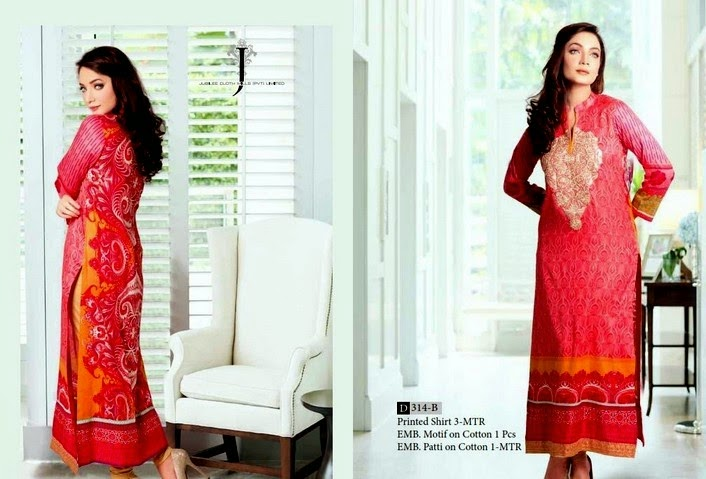 Jubilee Doha Kurti Collection 2014