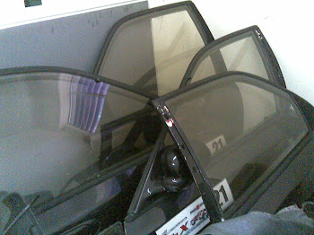 Honda Civic EG8 SR4 Door Assembly Complete with Window Glass