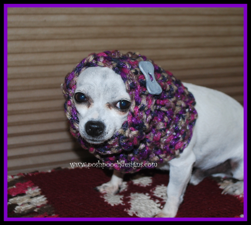 Dog Snood Knitting Pattern : Posh Pooch Designs Dog Clothes: Twilight Sparkle Dog Snood Free Knitting Patt...
