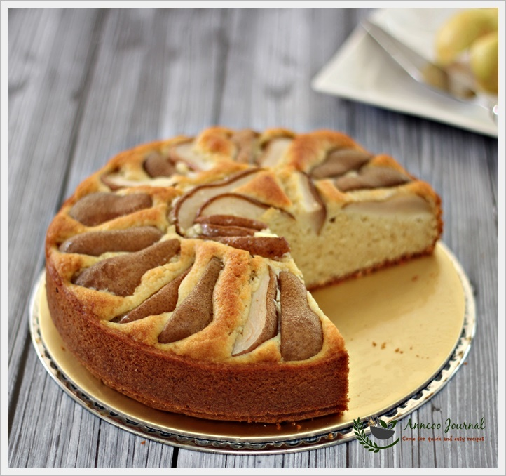 Pear and Hazelnut Cake 香梨榛子蛋糕 | Anncoo Journal - Come for ...