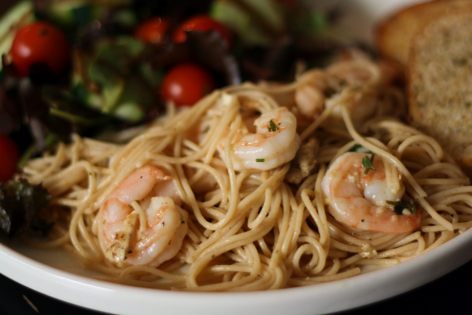 what's for dinner?: lemony shrimp scampi and chicken... 25 minutes