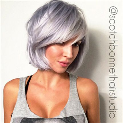 Silver Shades For Short Haircuts