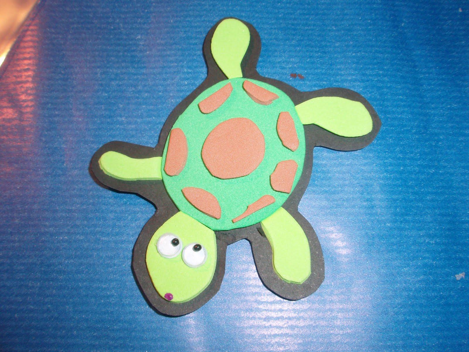 tortuga 2 colores (foamy)