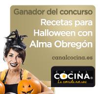 Ganadora del concurso de Halloween