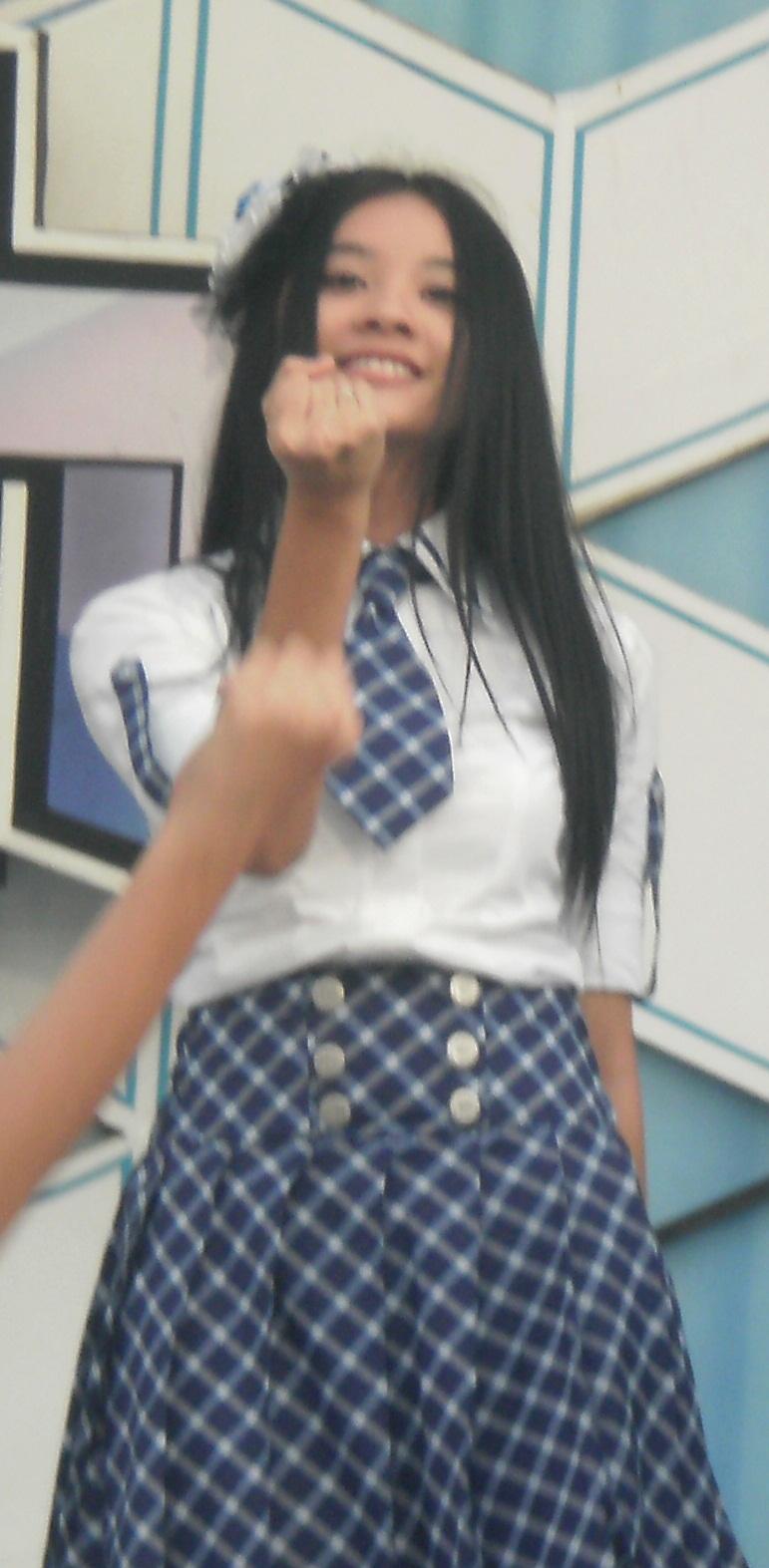 Cleo JKT48 pada MTV 100% ampuh