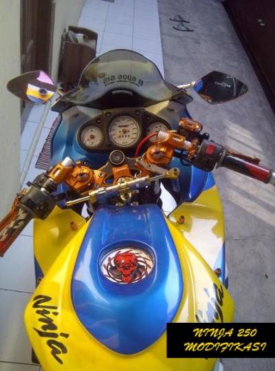Ninja 250 Modif Airbrush