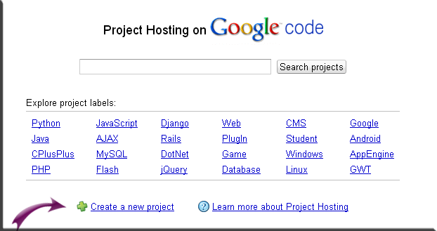 Google Project Hosting