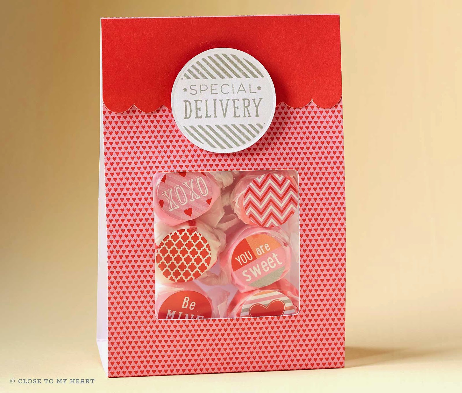 CTMH Valentine's Day Treat Bags