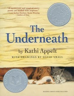 bookcover of Newbery Honor book THE UNDERNEATH  by Kathi Appelt