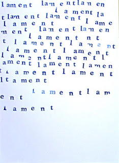 David Sweeney, #454, lament