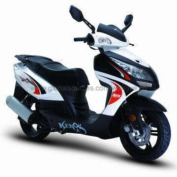 125cc Motor Scooter 80kph Maximum Speed 110mm Ground Clearance