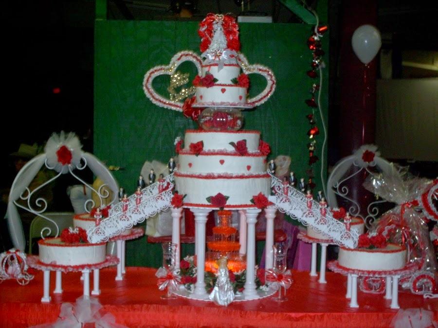 Make Water Fountain Wedding Cakes