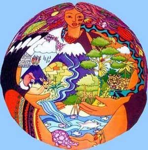 """Queremos vivir en paz y respetando la naturaleza y la ecología"""""""
