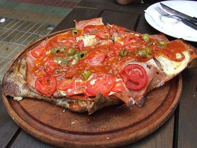Matambre a la Napolitana - Comida Tipica Argentina - Argentina Food