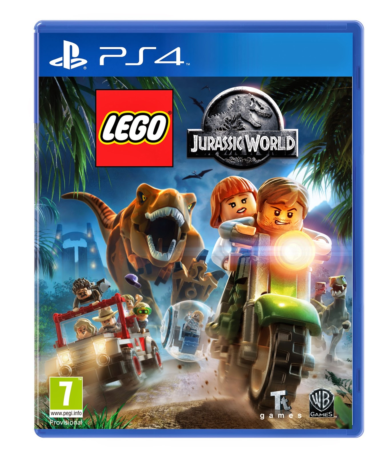 jurassic world game ps4
