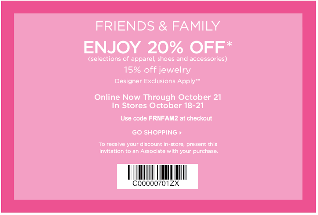 Nordstrom coupon code 2018