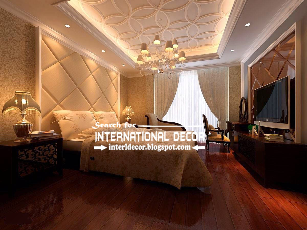 Prime plaster ceiling design and style and repair for bedroom ...
