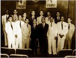 PCB anos 40 - Bancada do PCB na constituinte de 1946