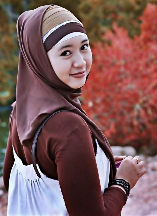 Gadis Jilbab Beauty Hijab Kerudung Model The Contemporary.